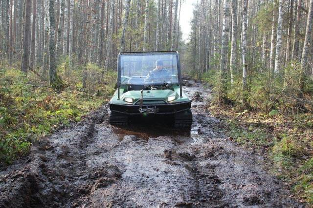 All terrain vehicles «Tinger Compact 5 » - YouTube