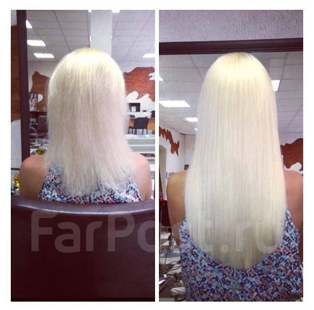 Что такое наращивание волос вшиванием