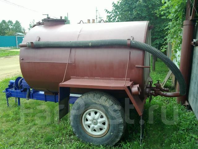 Бочка для откачки канализации на трактор