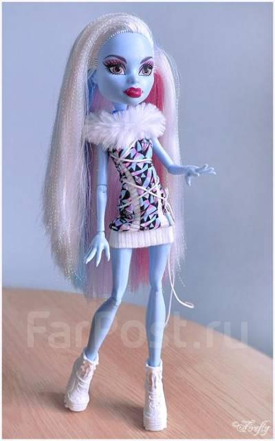 WOW - ЦЕНА! Monster High (Школа монстров) Эбби - Базовая (с ...