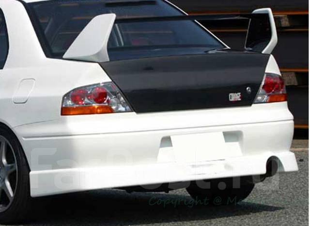 Спойлер. Mitsubishi Lancer