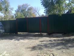 Установим забор вокруг вашего участка выкопаем под септик под воду дри
