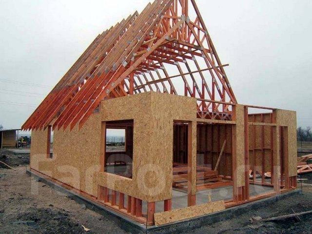 Как построить каркасный дом своими руками недорого фото - Russkij-Litra.ru