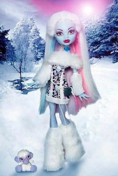 Monster High (Школа монстров) Эбби - Базовая (питомец) - Игрушки ...