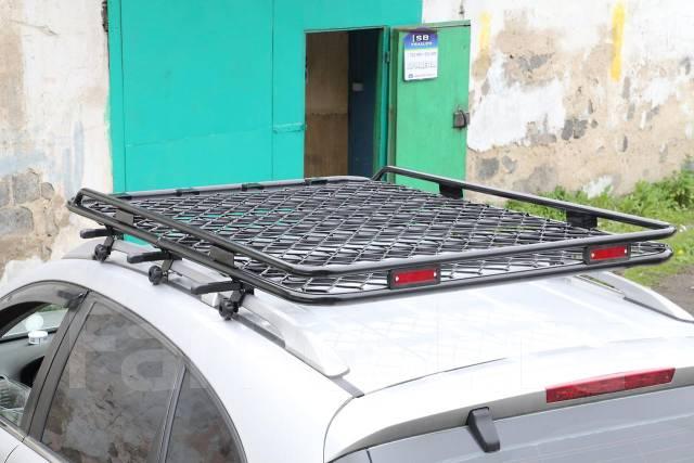 Крепление багажника на рейлинги автомобиля