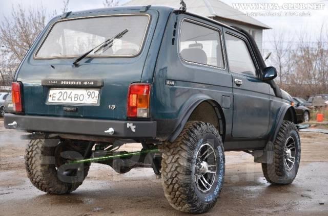 Как сделать задний силовой бампер на ниву своими руками - Sroreg.ru