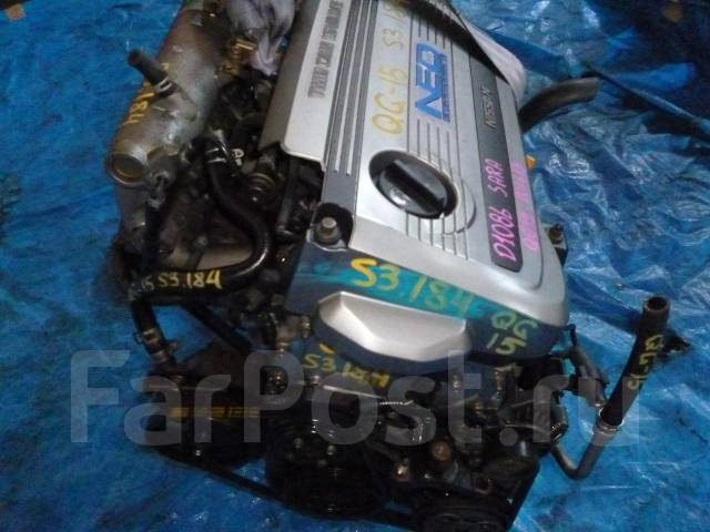 ���������. Nissan Sunny, FB15 ��������� QG15DE. Nissan Sunny, FB15 ��������� QG15DE