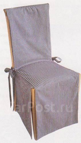 Пошить чехол на стул своими руками