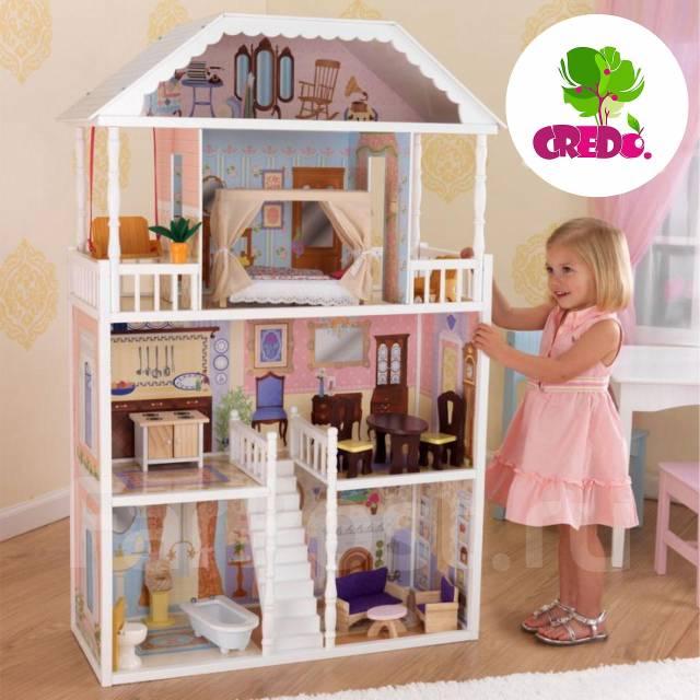 Кукольный домик фото своими руками