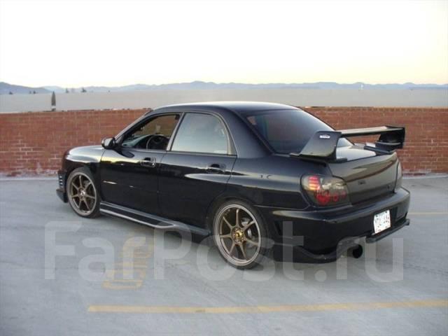 Обвес кузова аэродинамический. Subaru Impreza WRX, GDB, GD, GDA Subaru Impreza WRX STI
