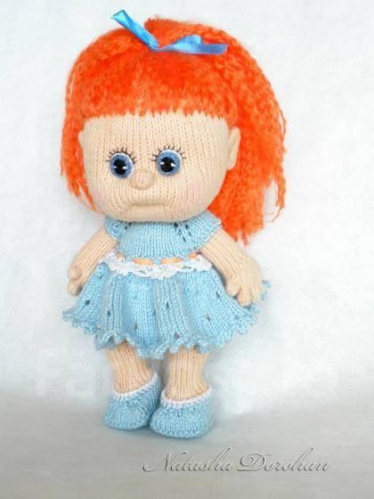 Кукла Маша по описанию Марины