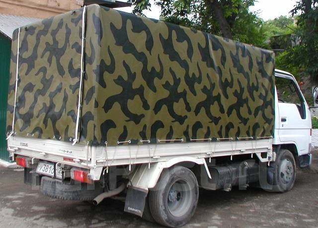 Будку на грузовик своими