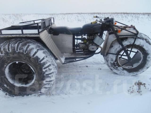 болотоход из мотоцикла урал фото