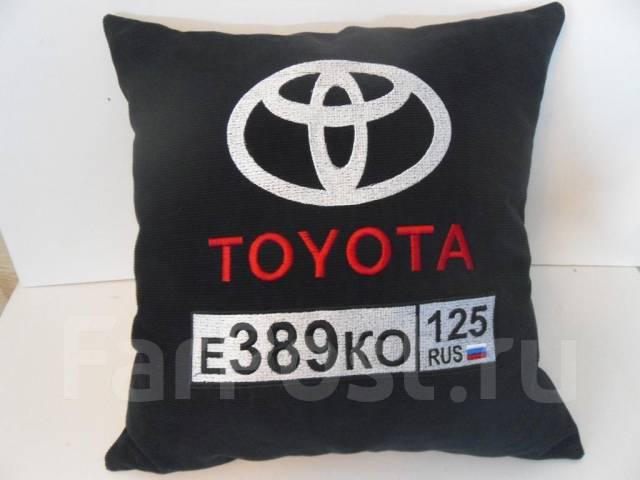 Подушки в машину с логотипом своими руками 94
