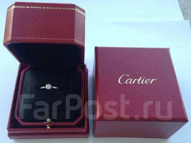 кольца с бриллиантом картье