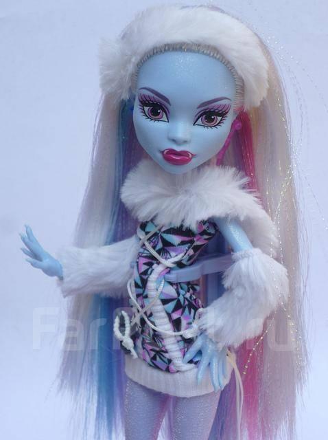 НГ марафон! Кукла Эбби, Базовая. Monster High / Школа монстров ...