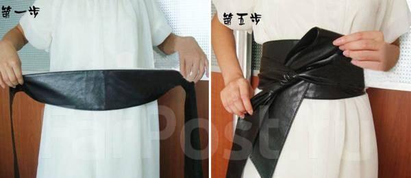 Сшить пояс своими руками фото