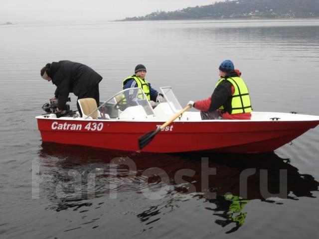 лодка пластиковая катран 430