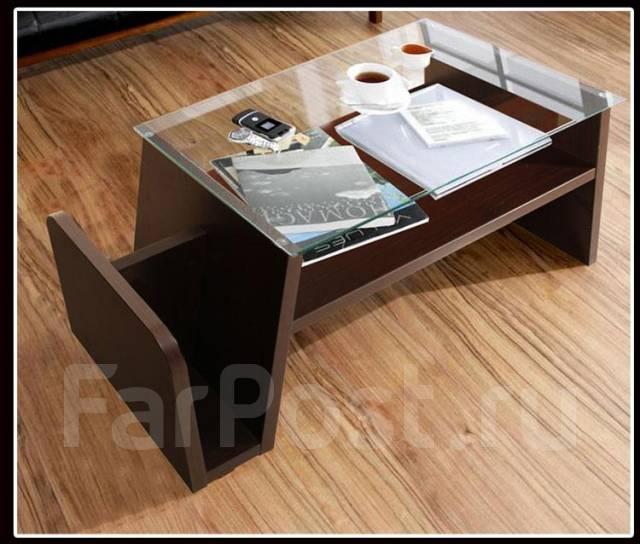 Журнальный (кофейный) стол №2. Под заказ