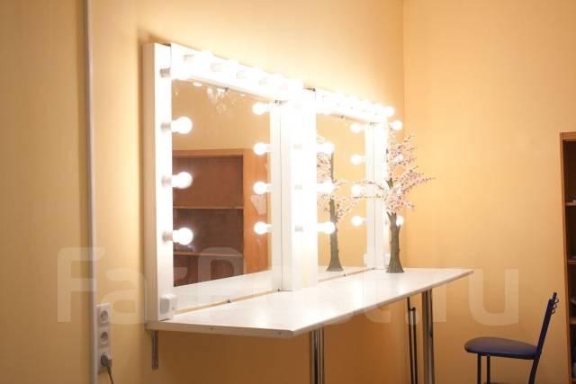 Как сделать зеркало как в гримерной своими руками