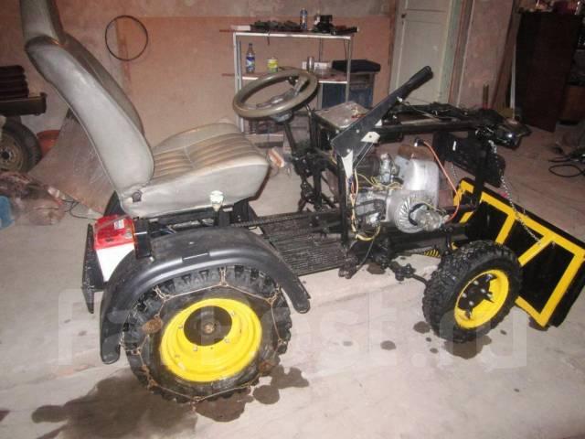 Минитрактора своими руками с двигателем от мотоцикла