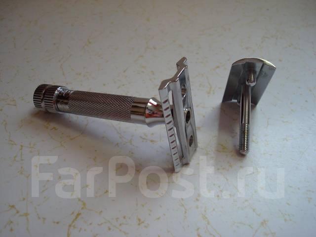 Бритва Merkur-34, германия, г. Золинген, хром, новый, прямой рез. Под заказ