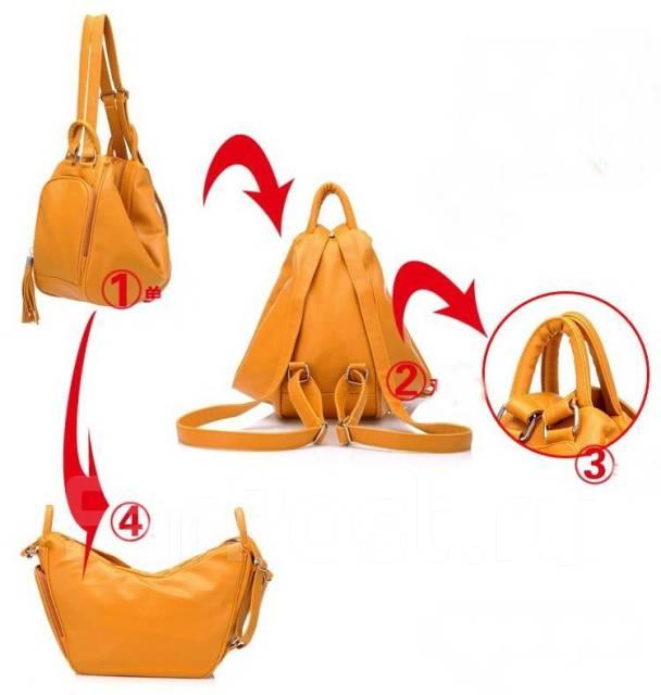 Сумка-рюкзак трансформер выкройки