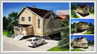M-fresh Energy stile. 100-200 кв. м., 2 этажа, 5 комнат, каркас