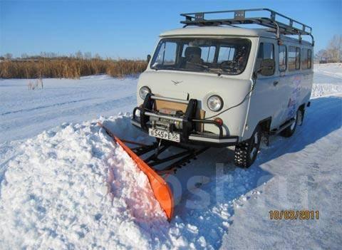 Ковш для уборки снега на уаз
