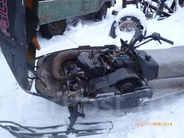 Снегоход рысь ремонт своими