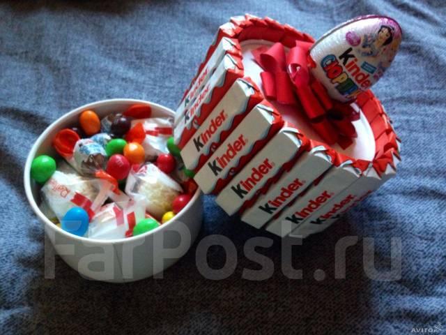 Киндер сюрприз как сделать подарок