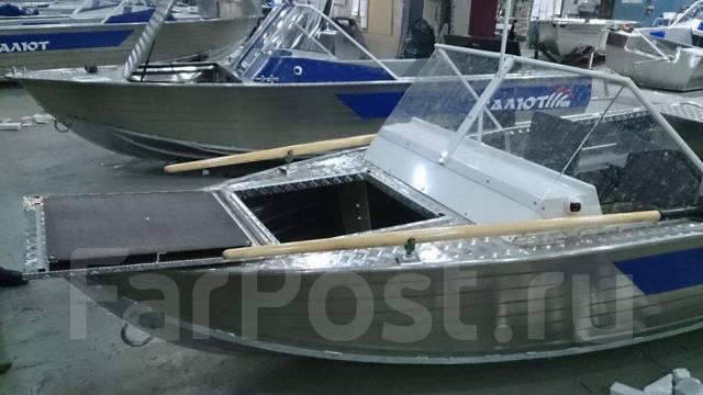 купить моторную лодку салют 430