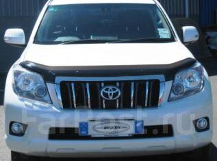 Дефлектор капота. Toyota Land Cruiser Prado, GRJ150W. Под заказ