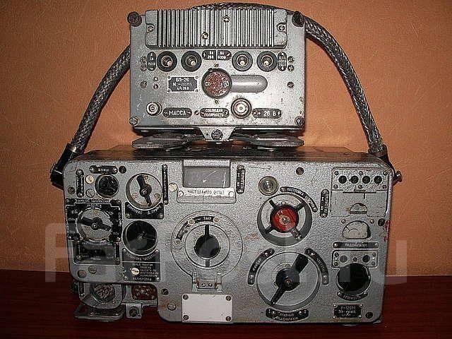 Радиостанция р-123м 60х годов