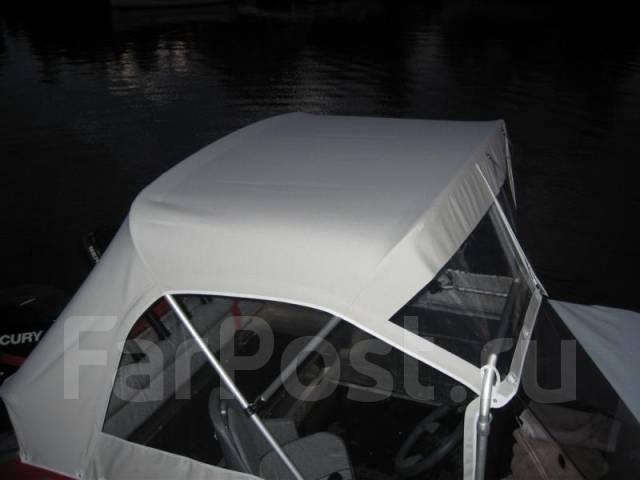 как сшить тент на лодку видео