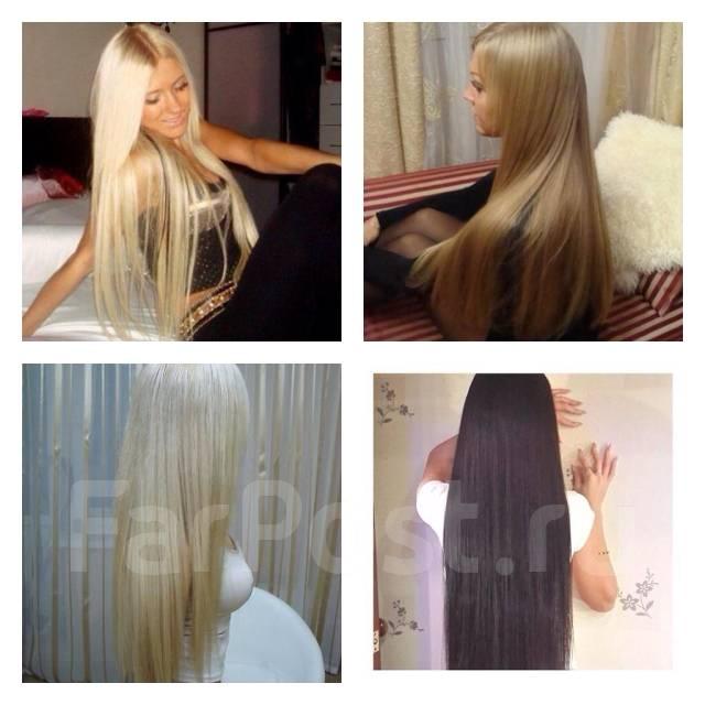 Наращивание волос конские волосы