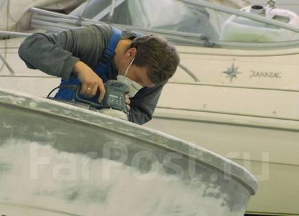 Ремонт катеров и лодок