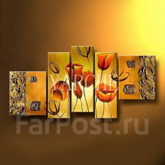 Картина Золотой мак в наличии ! арт.131