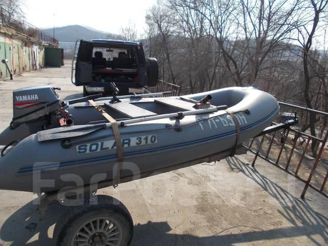 прицепы для лодок пвх солар
