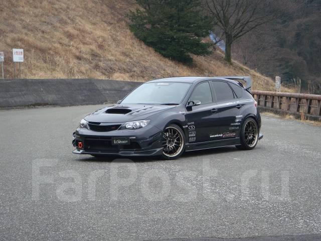 Порог пластиковый. Subaru Impreza WRX STI, GRB