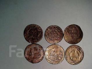 Монеты денга 1731-1752 г. г.