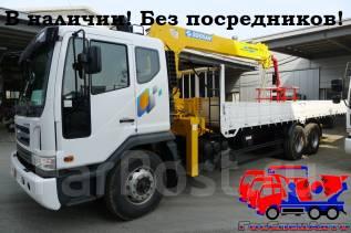 Daewoo Novus.  (11,5 тонн)  с КМУ Soosan 746 (7тонн), 11 051 куб. см., 11 500 кг.