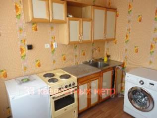1-комнатная, улица Шилкинская 16. Третья рабочая, агентство, 34 кв.м. Кухня