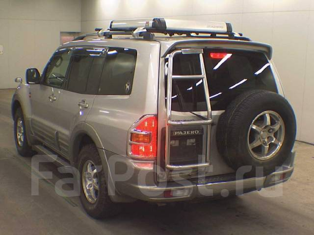 Трубка кондиционера. Mitsubishi Pajero, V73W, V78W, V75W, V77W Двигатель 4M41