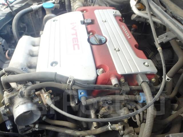Двигатель. Honda Accord, CL7