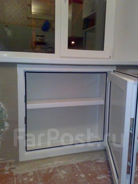 Как сделать холодильник под окном своими руками видео