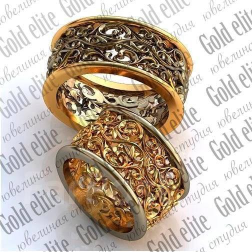 Обручальные кольца эксклюзивного дизайна