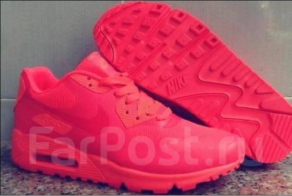 Яркие, розовые кроссовки Nike Air Max 90 Hyperfuse размер 38 ...