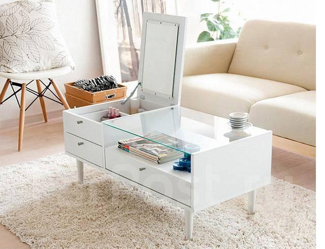 Журнальный (кофейный) стол №3 (два варианта цвета). Под заказ