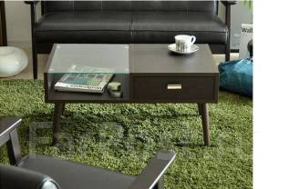 Журнальный (кофейный) стол №4 (3 варианта цвета, 2 варианта размера). Под заказ